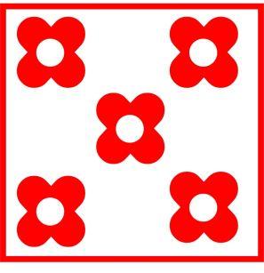 x flower box red