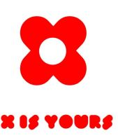 x red x is yours logo